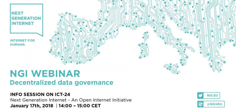 NGI Banner- Decentralized data governance
