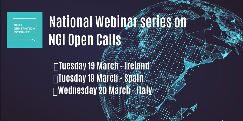 NGI Open Calls: webinar series